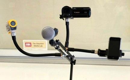 Staunton Media Lab Unveils ARMi Assistive Technology Arm
